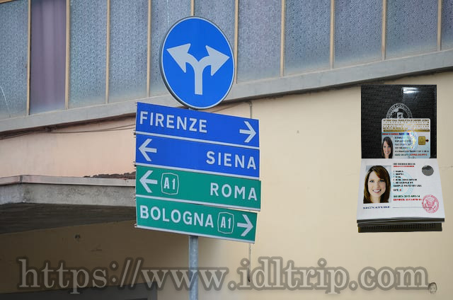 Street signs indicating which way you should go… according to the city located in that direction