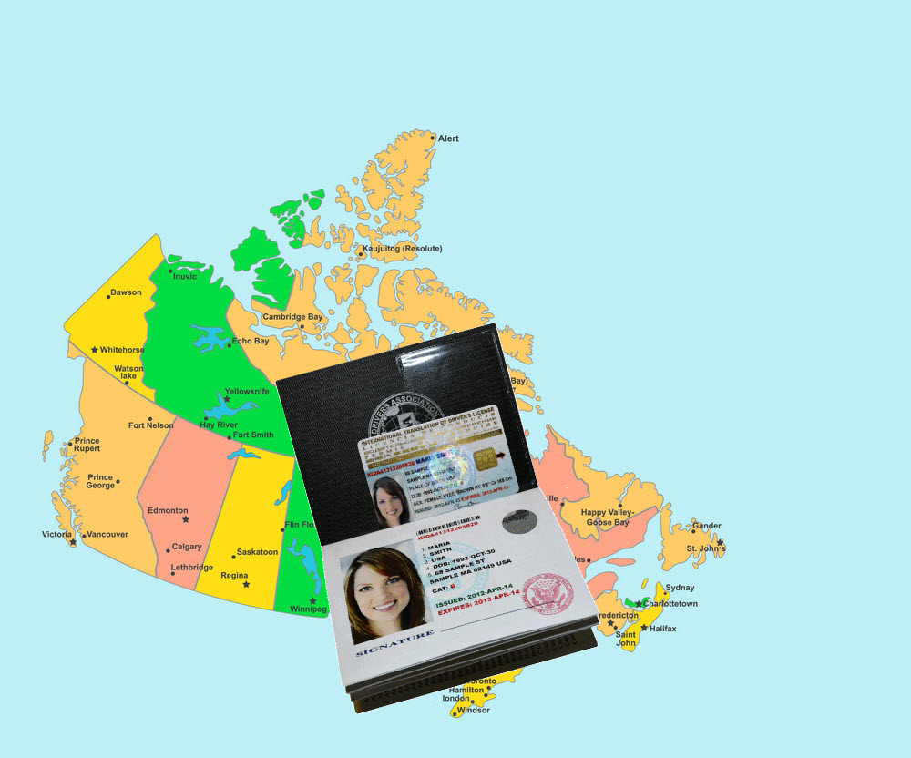 driving Canada roads with International Driving License