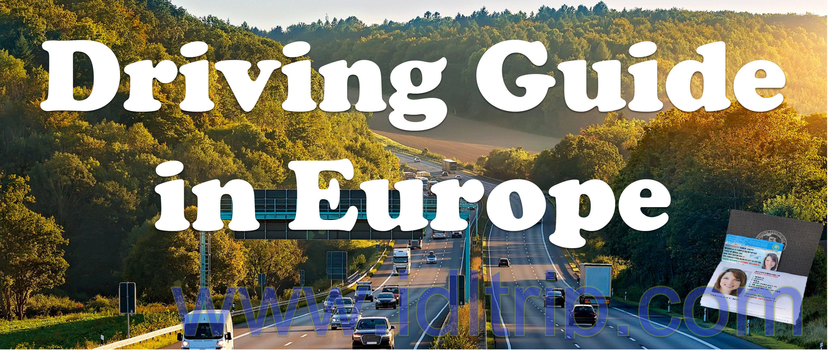 driving guide in europe