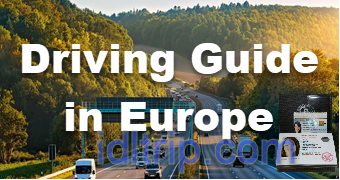 Blog Guide de conduite en Europe