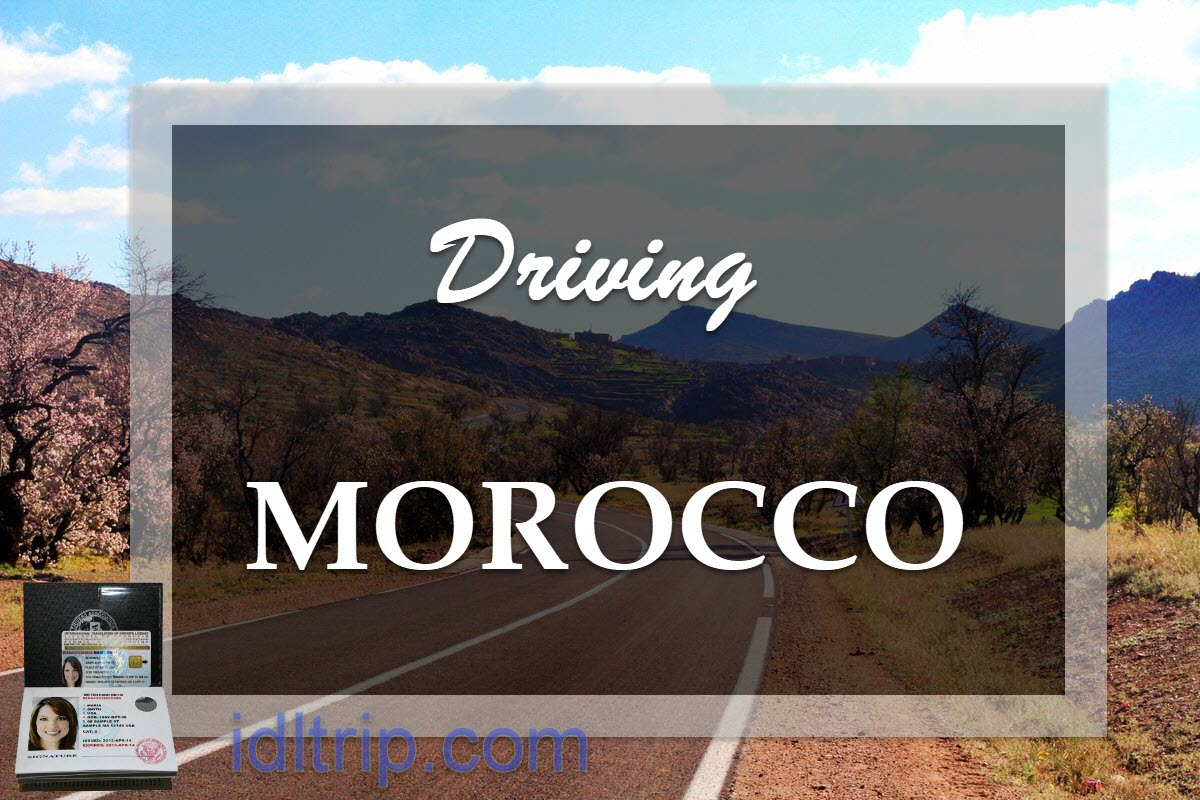Driving in Morocco