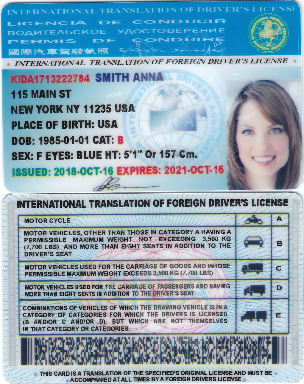 international drivers license south africa uk